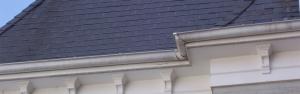 Gutters New Slate Roof